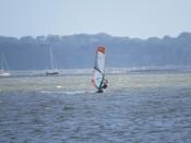 Planche à voile sur le golfe - Moutérian à Séné